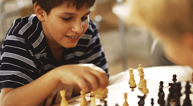 Chess tools and ADHD