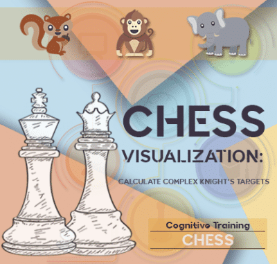ADHD chess visualization calculate complex Knight's targets