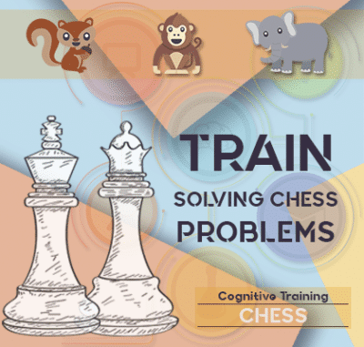 ADHD train solving chess problems