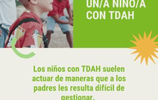 Educar a un niño con TDAH